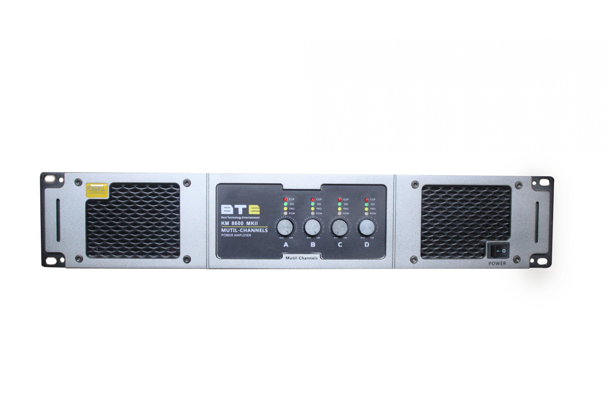 Công suất BTE KM8600 KII