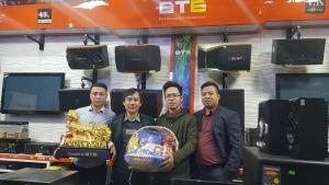 Những món quà tết từ Công ty CP BTE đã đến tay Khách hàng