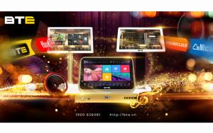 Phiên bản đầu karaoke BTE sử dụng hệ điều hành Android