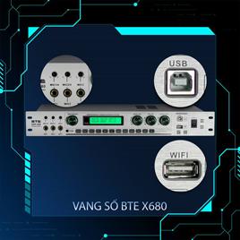 BTE ra mắt thiết bị xử lý số DSP-680, xử lý kép Karaoke và Cinema