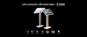 Hướng dẫn sử dụng đầu karaoke liền màn hình BTE E688