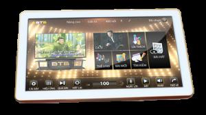 Màn hình cảm ứng karaoke BTE xuất hiện hiện tượng đổi màu, nhòe hình