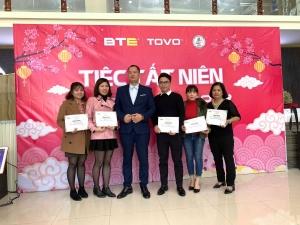Tiệc tất niên 2018, chào đón năm mới 2019 liên công ty BTE - TOVO - 911